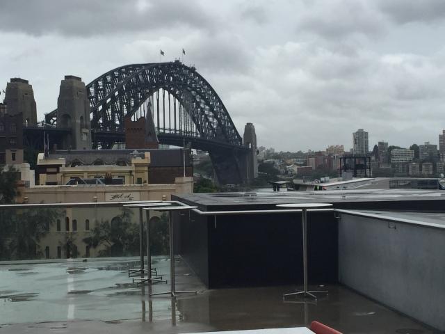Sydney Harbour Bridge Hello Sam Goodbye Samantha