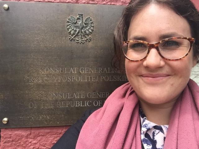 Hello Sam Goodbye Samantha Polish Consulate Sydney